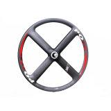トラック自転車およびFixieの自転車で使用されるカーボンスポークの車輪