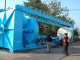 Éolienne semi-automatique automatique de pipe de FRP GRP, chaîne de production