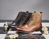 Bottes habillées de cuir sculpter Vintage Hommes Martin Bottes fait Toe