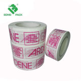 При использовании термоклеевого BOPP уплотнения коробки ленты