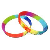Silikon kundenspezifisches Handband mit Firmenzeichen/Plastikhandgelenk-Band (XD-WB-02)