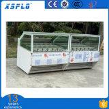 B21 Sorvetes vitrina para venda de forma reta (uma)