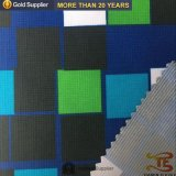 100 % polyester Tissu respirant Stripe pongés vêtement Vestes de plein air