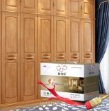 Méthode d'application de pulvérisation et de meubles en bois d'utilisation de peinture vernis