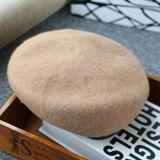 Vier Farben-Wolle-Barett-Hut mit Customed Entwurf