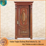 Desheng dernière conception intérieure de porte en bois porte de la salle de porte en bois
