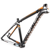 Blocco per grafici di alluminio interno 27.5er della bicicletta di Moutain di percorso di cavo della saldatura piana