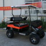 Coche de visita turístico de excursión del carro de golf del coche eléctrico del mecanismo impulsor de 4 ruedas
