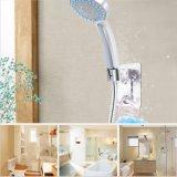 浴室のハンガーのホックが付いている調節可能で重いアルミニウムシャワー・ヘッドのホールダーの壁の台紙ブラケット