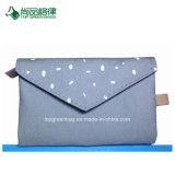 도매 주문 면 다중 포켓 봉투 지퍼 가까운 접히는 지갑 부대