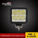 Heißes Hochleistungsarbeits-Licht des Verkaufs-18watt 3inch LED