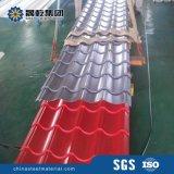Strato d'acciaio preverniciato del tetto del metallo ondulato