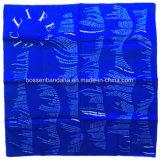 Katoenen van het Af:drukken van Paisley van het Ontwerp van de Douane van de Opbrengst van de Fabriek van China Blauwe Sjaal
