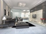 磨かれたコロナのタイルの浴室のベロナの白い陶磁器の艶をかけられた磁器の大理石のタイル