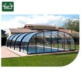 Tela de vidro piscina exterior Gabinete com alta qualidade na China