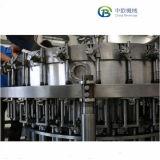 Completare il macchinario di coperchiamento di riempimento della bevanda gassosa automatica per la bottiglia di vetro