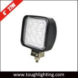 "12V 24V 4 "" Sicherheits-Arbeits-Lichter des Flut-Träger-Quadrat-27W LED für LKW-Gabelstapler"