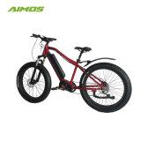 1000W Bafangモーターを搭載する脂肪質のタイヤのクランクモーターMoutainの電気バイク