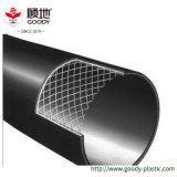 야금술 부식성 중간 수송 파이프라인 사용 철강선 메시에 의하여 강화되는 HDPE Composited 관