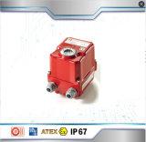 El accionador eléctrico de alto rendimiento 3 Way Ss Válvula de bola