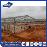 Almacén prefabricado de la estructura de acero del diseño