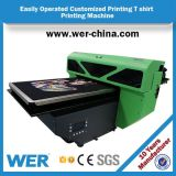세륨 승인되는 방수 A2 탁상용 t-셔츠 인쇄 기계