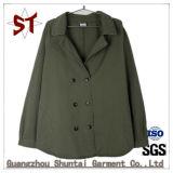 Whalsale Traje de chaqueta de mujer Casual Collar Escudo