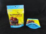 FDA Nahrungsmittelgrad-Fastfood- transparente verpackenbeutel mit Reißverschluss