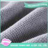 Commercio all'ingrosso generale di riscaldamento grigio molle del piedino lavorato a maglia linea aerea