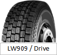 LANWOO Marke TBR Reifen (Muster des Laufwerks LW909)