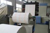 Máquina de impresión flexográfica de 4 colores para la Copa de papel