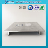 Ce- SGS Profiel van het Aluminium van het Aluminium van de Stijl van het ISO- Certificaat het Europese voor de Markt van Chili van de Voordeur van de Winkel, de Markt van Bolivië