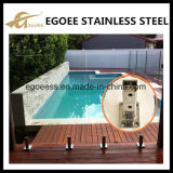 De Spon van het Glas van de Omheining van het Glas van het roestvrij staal/de Spon van het Zwembad