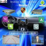 Navegación androide Interfaz de vídeo para el período 2010-2015 Porsche Cayenne