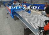 Machine ondulée de feuille de toit avec Stacker&Hydraulic automatique Decoiler