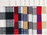 Cravate tissée teinte par filé de tissu de coton de plaid