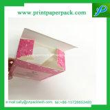 Rectángulo de papel de empaquetado del lujo de Quakeproof del perfume con la ventana del PVC