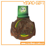 Heißer Verkaufs-kundenspezifische Preis-Medaille mit Farbband (YB-MD-62)