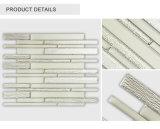 Preiswerter Fabrik-direkter dekorativer Innenstreifen-beige Glasfliese