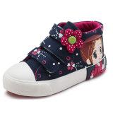 Form-Marke scherzt Mädchen-Segeltuch-Turnschuh-Schuh-Kind-Schuhe