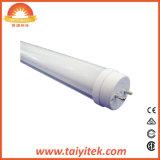 T8 16W 공공 장소를 위한 플라스틱 바디 1200mm LED 똑바른 관 사용
