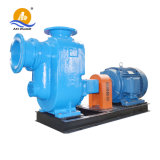 Skid monté avec remorque centrifuge à amorçage automatique Les eaux usées de la pompe Diesel