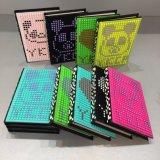 Caderno do silicone com tampa do silicone