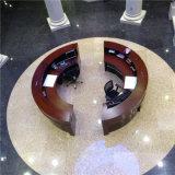 High-end классический круглый стол приема с 2 сиденьями для правительств