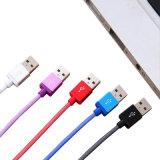 Tête métallique de filets de poisson câble du chargeur USB pour iPhone 8