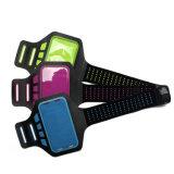Неопреновый чехол с ремешком для мобильных телефонов, логотипа OEM-печати наручный ремешок для мобильного телефона