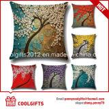 Крышки валика случая подушки оптового хлопка Linen квадратные декоративные