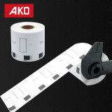 """Escrituras de la etiqueta compatibles sensibles termales de múltiples funciones Dk-1209 (1-1/7 """" X 2-3/7 """"; 29mm62m m) Escrituras de la etiqueta autas-adhesivo"""
