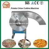 Patatine fritte fresche automatiche che tagliano ed affettatrice