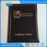 Timbre d'aluminium de grande taille personnalisée Logo Dossier Certificat Diplôme